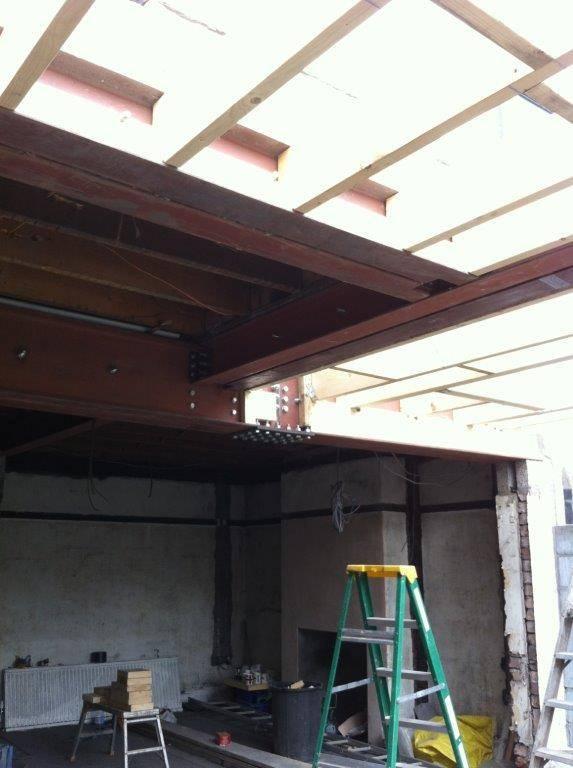 beam installation