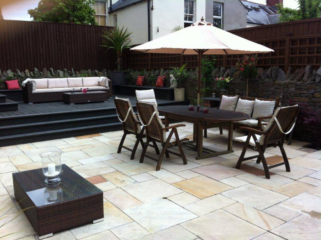 new patio slabs