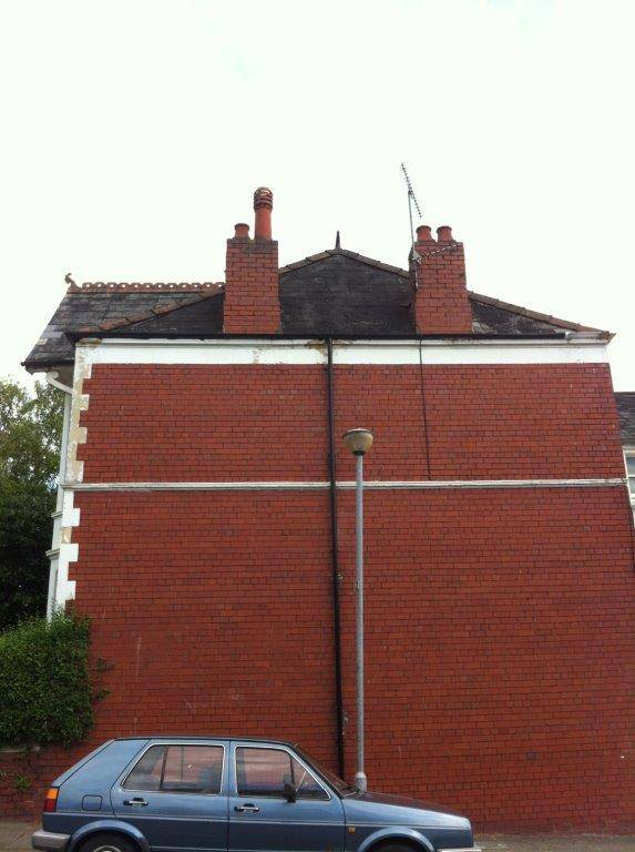 high roof on house repair