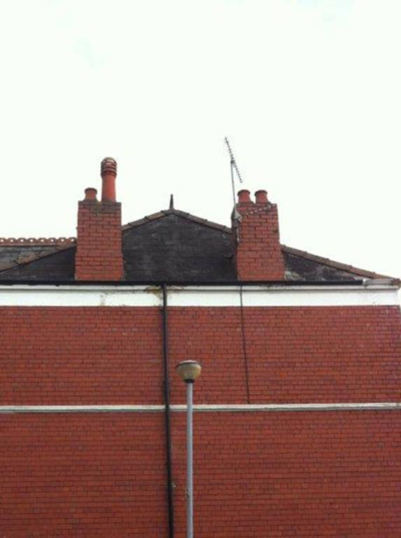 maintaining house chimney on roof
