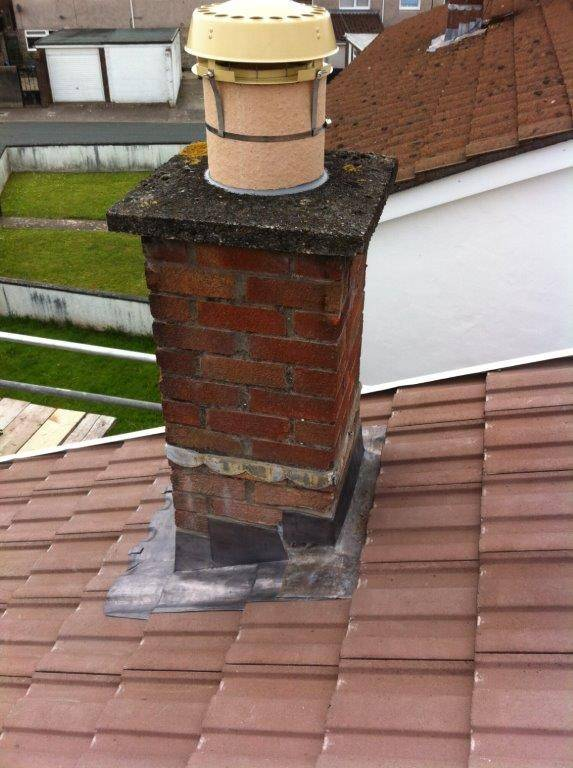 repointing old chimey