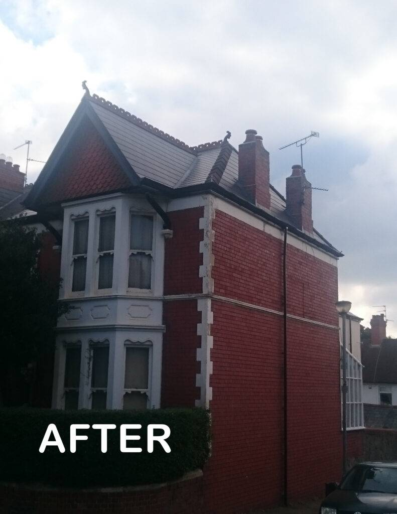 roof repair after