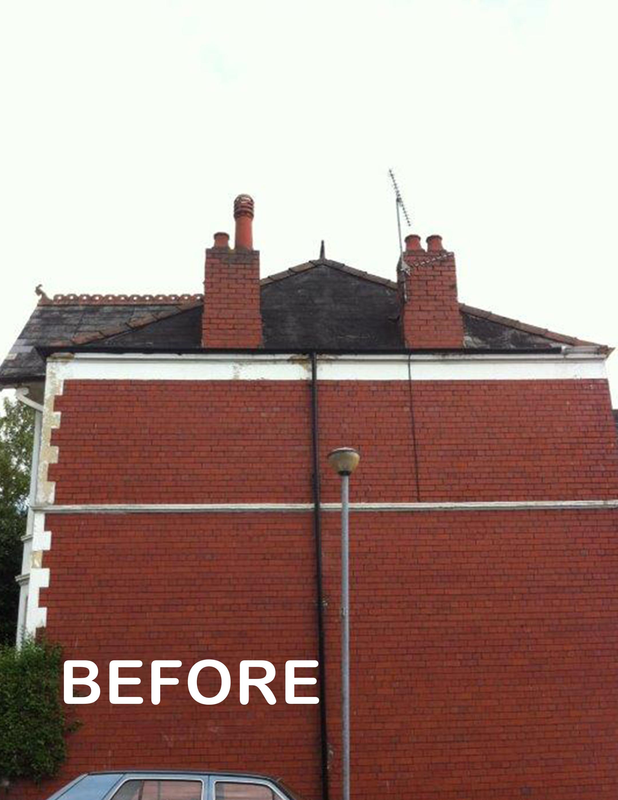 roof repair before