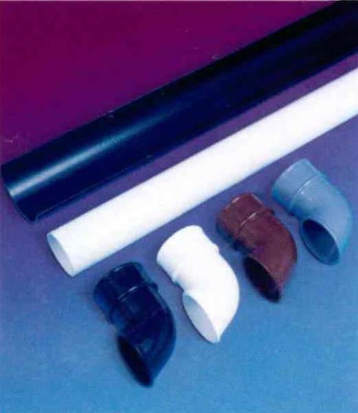 different coloured guttering