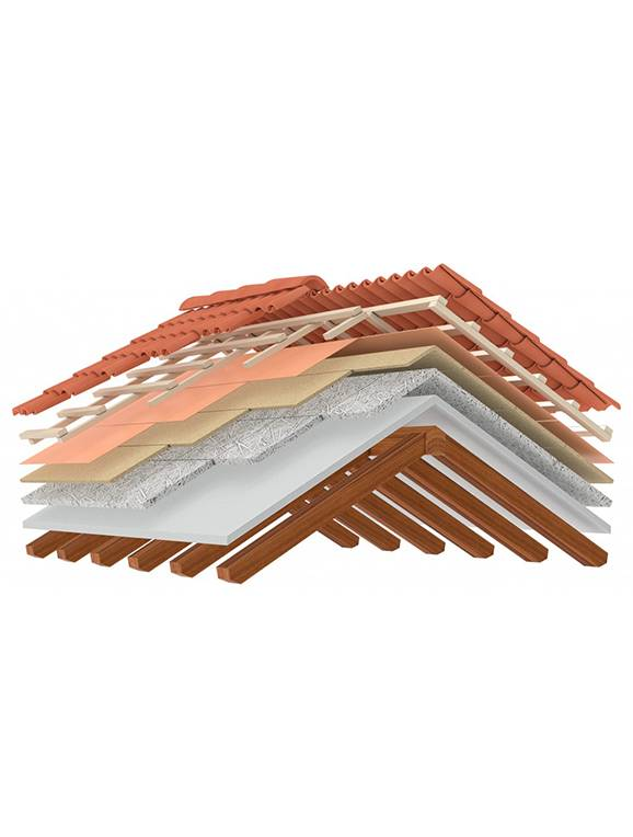 layers of roof insulation