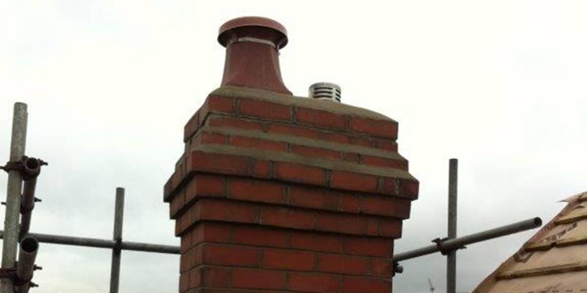 chimney rebuilt