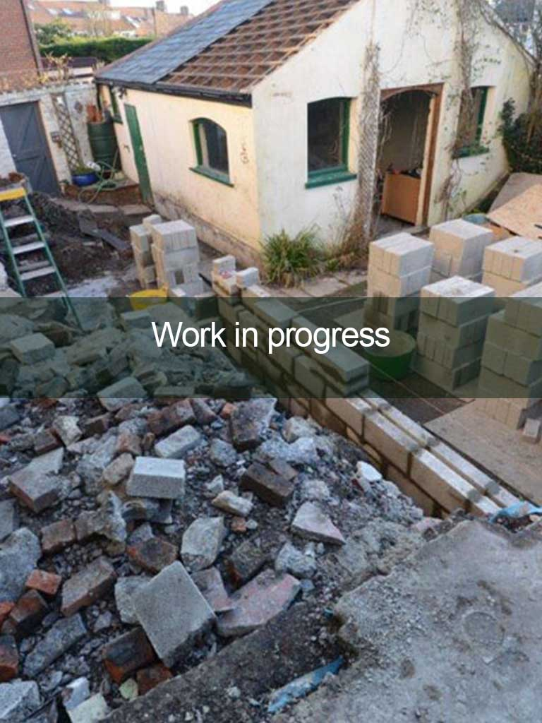 conversion building work