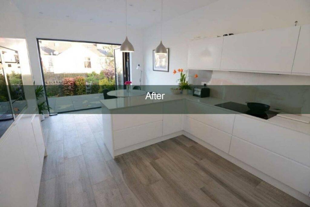 kitchen conversion completion